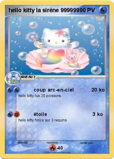 Pok mon hello kitty la sirene 999999 999999 coup arc en - Hello kitty sirene ...