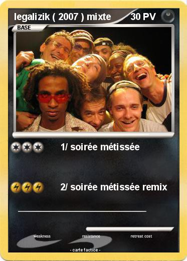 Pokemon Legalizik 2007 Mixte