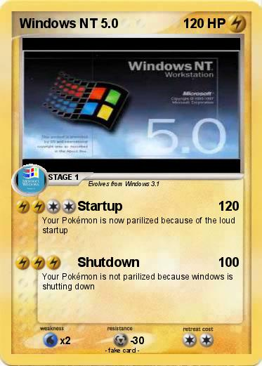 pokémon windows nt 5 3 3 startup my pokemon card
