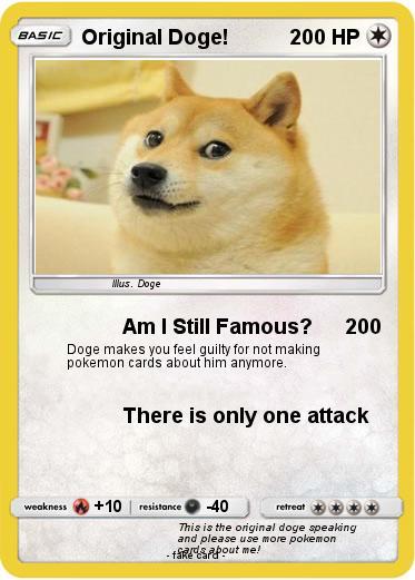 Pokemon Original Doge