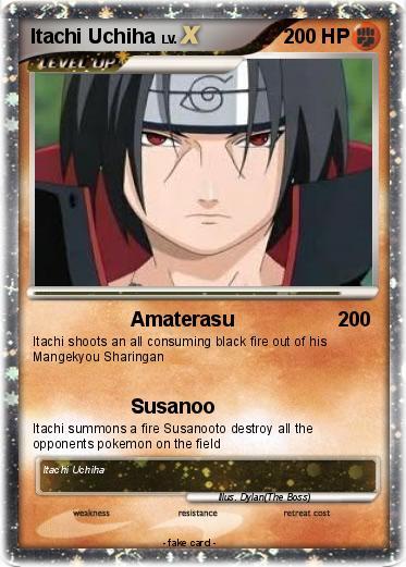 Pokemon Itachi Uchiha 100