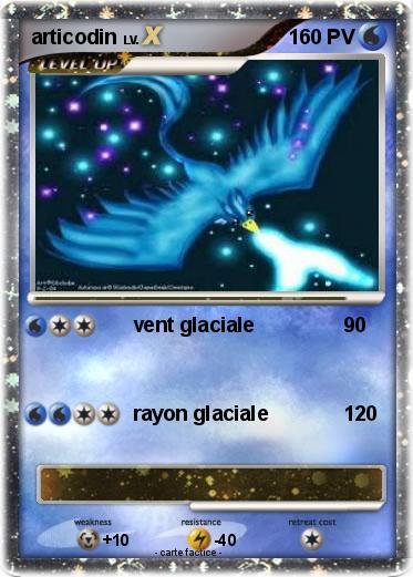 Pok mon articodin 66 66 vent glaciale ma carte pok mon - Elector pokemon x ...