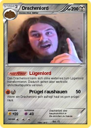 Pok mon drachenlord 3 3 l genlord my pokemon card - Mypokecard com ...