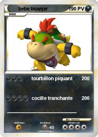 Coloriage Bebe Tapir.Pokemon Bebe Bowser 22 22 Tourbillon Piquant Ma Carte Pokemon