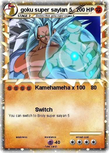 Pokémon goku super sayian 5 3 3 - Kamehameha x 100 - My ...