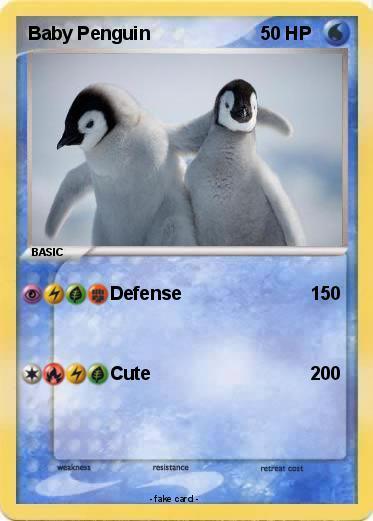 Pokémon Baby Penguin 23 23 - Defense - My Pokemon Card