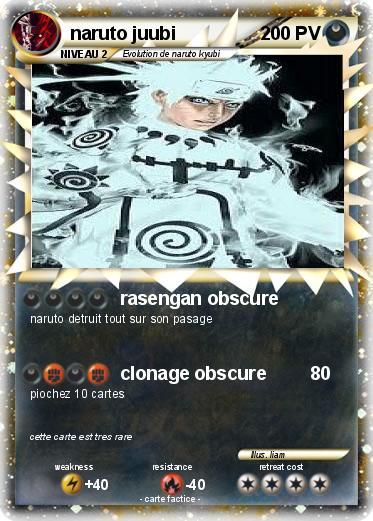 Pok mon naruto juubi rasengan obscure ma carte pok mon - Rikudo a imprimer ...