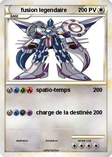 Pok mon fusion legendaire 1 1 spatio temps ma carte - Pokemon legendaire pokemon y ...