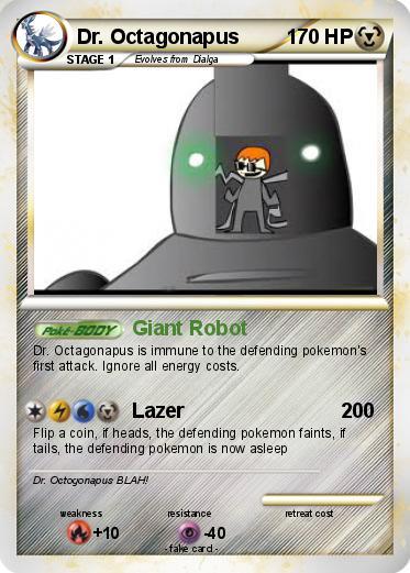 pokémon dr octagonapus 404 404 giant robot my pokemon card