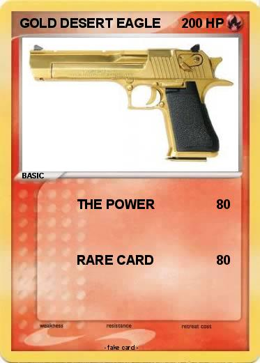 Pokemon GOLD DESERT EAGLE