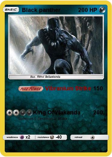 Black power poke