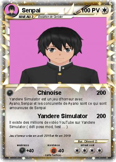 Coloriage Yandere Simulator A Imprimer.Pokemon Senpai 27 27 Chinoise Ma Carte Pokemon