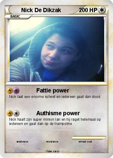 Nick De Pokemon