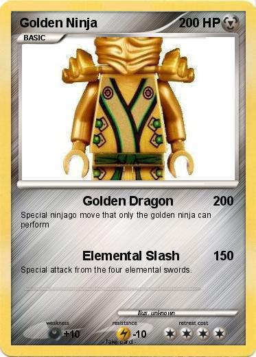 Pok mon Golden Ninja 1 1 Golden