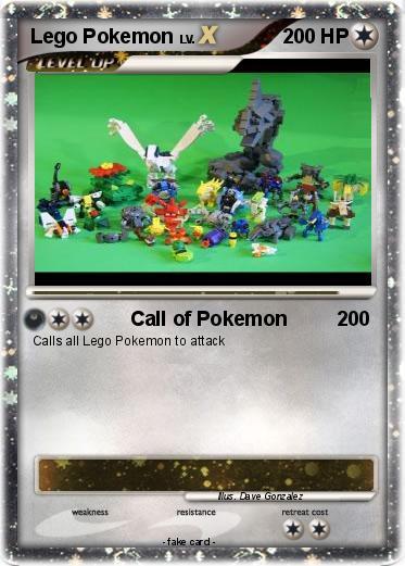 Pok mon lego pokemon 6 6 call of pokemon my pokemon card - Lego pokemon rayquaza ...