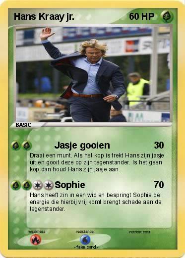 My 3 Jr Pokemon Kraay Jasje Hans Pokémon Card Gooien CBorxWde