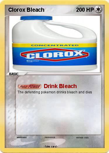 Pokemon Clorox Bleach 6