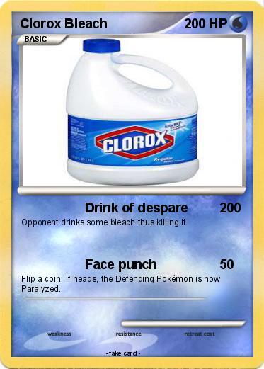 Pokemon Clorox Bleach 5
