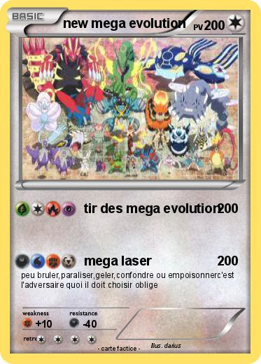 Pok mon new mega evolution tir des mega evolution ma - Tenefix evolution ...