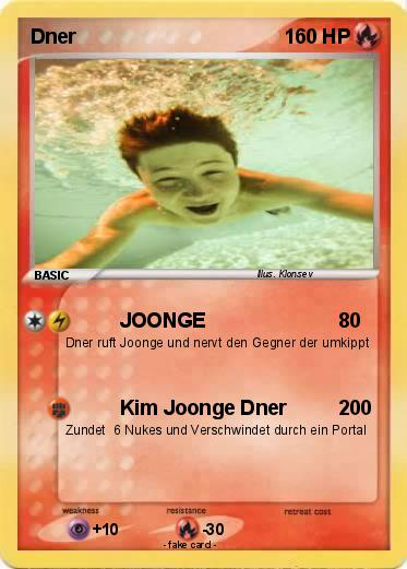 Dner joonge  Pokémon Dner 17 17 - JOONGE - My Pokemon Card