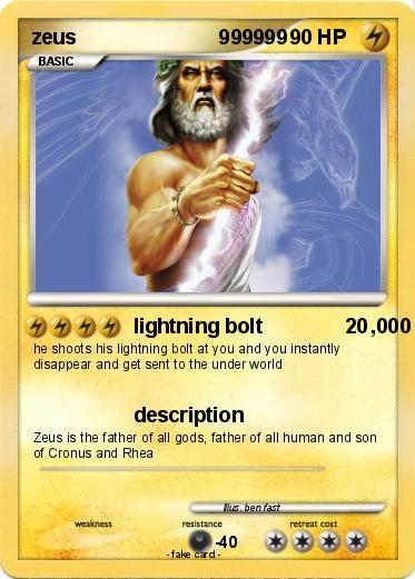 Pokemon Zeus 999999