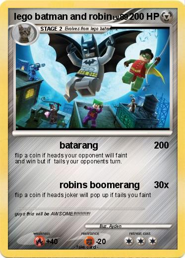Pok mon lego batman and robin