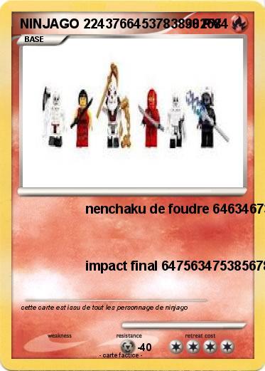 Pok mon ninjago 22437664537838382684 22437664537838382684 - Carte ninjago ...