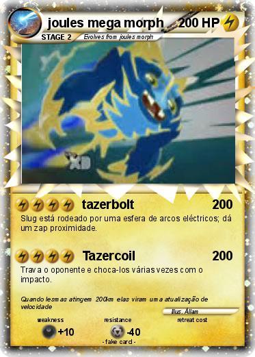 Pok 233 Mon Joules Mega Morph Tazerbolt My Pokemon Card