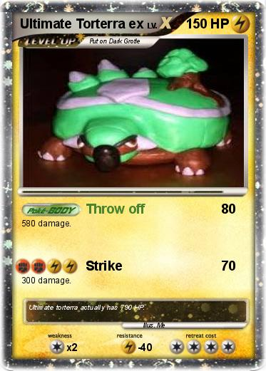 Pokémon Ultimate Torterra ex - Throw off - My Pokemon Card