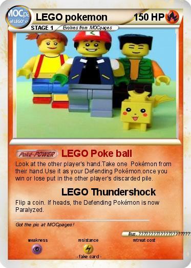Pok mon lego pokemon 1 1 lego poke ball my pokemon card - Lego pokemon rayquaza ...
