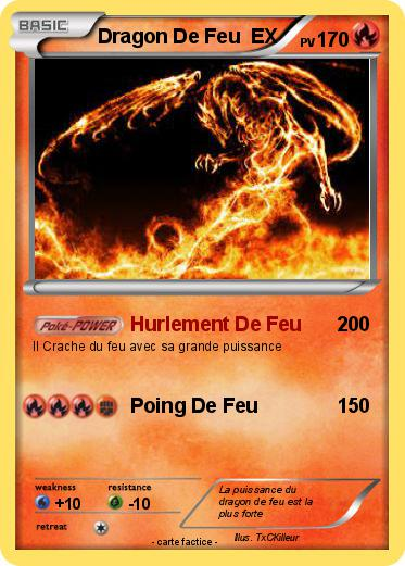 Gallery of coloriage dragon feu pokemon a …