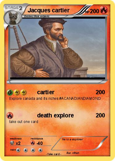 Pokémon Jacques cartier 26 26 - cartier - My Pokemon Card