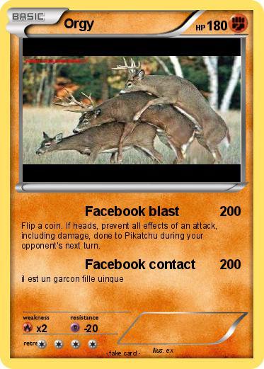 orgy facebook Facebook.