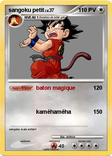 Pok mon sangoku petit 26 26 baton magique ma carte pok mon - Petit sangoku ...