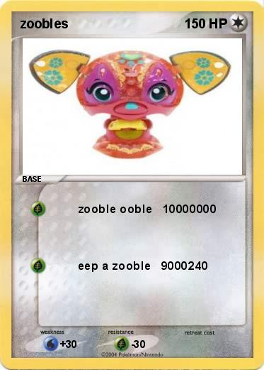 Coloring Pages Zoobles. Pokemon zoobles Pok mon  zooble ooble 10000000 My Card