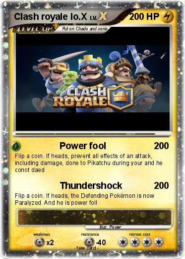 Pokemon Clash Royale Lo X