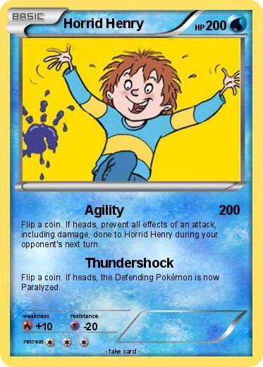 Pokémon Henry Hudson 10 10: Pokémon Horrid Henry 19 19