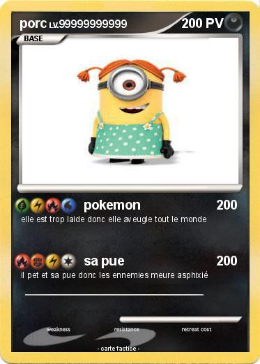 Pokémon porc 23 23 - pokemon - Ma carte Pokémon