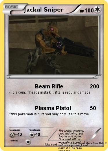 Pokémon Jackal Sniper - Beam Rifle - My Pokemon Card