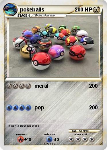 Pokmon pokeballs 28 28  meral  My Pokemon Card
