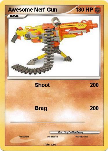 Pokemon Awesome Nerf Gun