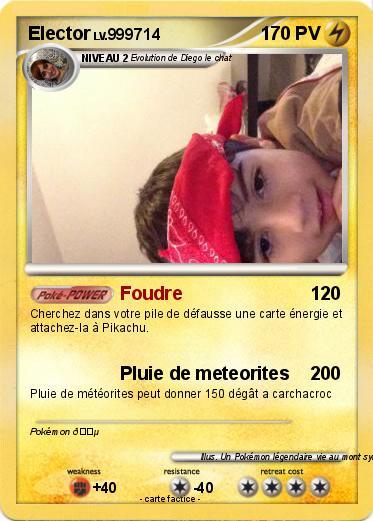Pok mon elector 332 332 foudre ma carte pok mon - Elector pokemon x ...