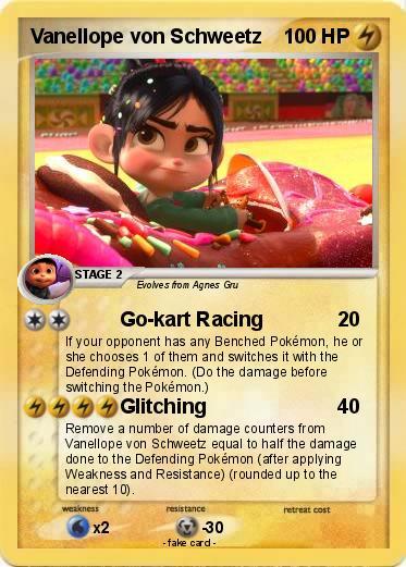 Pok 233 Mon Vanellope Von Schweetz 1 1 Go Kart Racing My