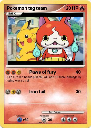 pokemon tag team cards
