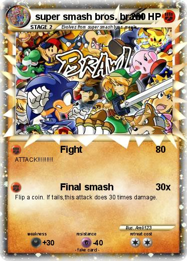 Pokémon super smash bros brawl 22 22 - Fight - My Pokemon Card
