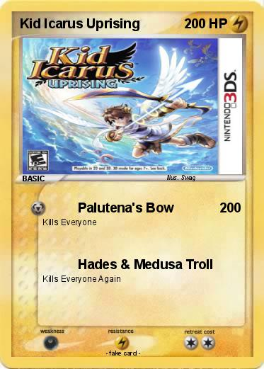 Pokemon Kid Icarus Uprising