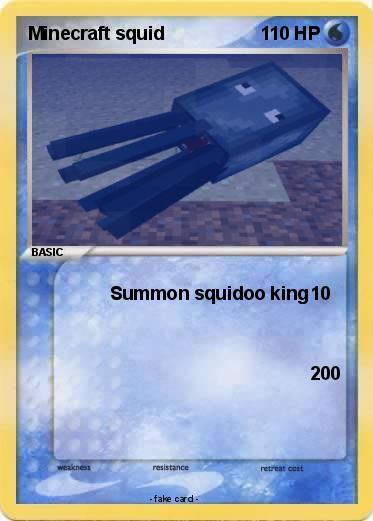 Pokemon Minecraft Squid 4 4