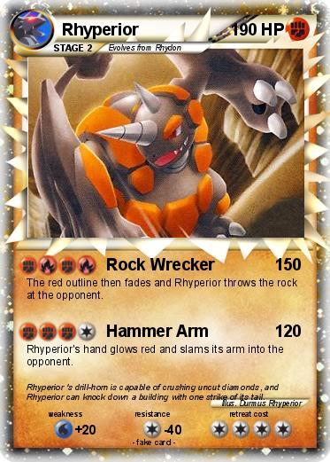Pokemon Rhyperior 148
