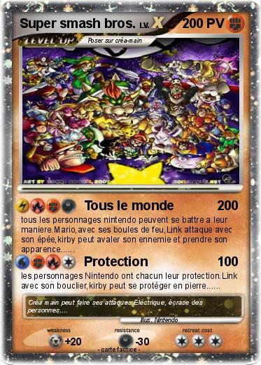 Pok mon super smash bros 74 74 tous le monde ma carte - Tous les personnages mario kart wii ...