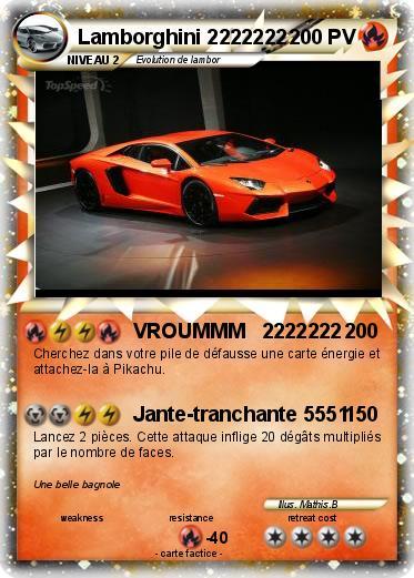 Pok mon lamborghini 2222222 2222222 vroummm 2222222 ma - Lamborghini a colorier ...
